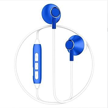 LIUYULIN Auriculares Inalámbricos Ejecutando Los Auriculares Auriculares De Música Tapones para Los Oídos De Ear Colgando del Cuello De Auriculares ...