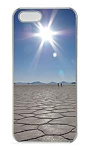 iPhone 5 5S Case Sky Mirror PC Custom iPhone 5 5S Case Cover Transparent