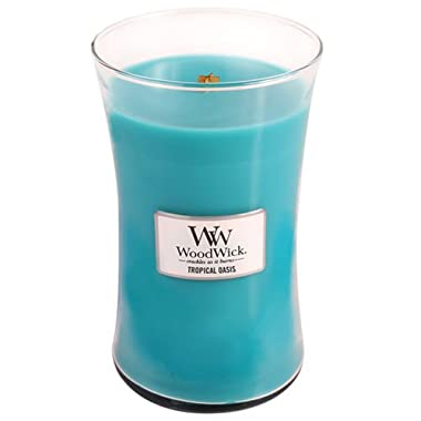 WoodWick Tropical Oasis Candle, Large