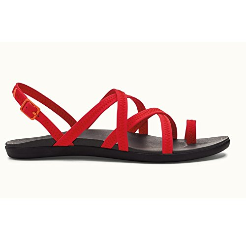 OluKai Women's Kalapu Sandal Hibiscus/Dark Shadow cheap outlet locations buy cheap discounts cheap clearance store cheap sast the best store to get ib48rihkdM