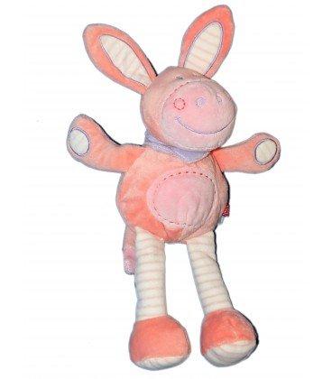 Doudou peluche ane caballo rosa – Tex – Carrefour H 35 cm