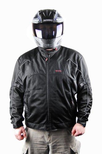 Vega Technical Gear Mercury Men's Mesh Jacket (Black, Medium)