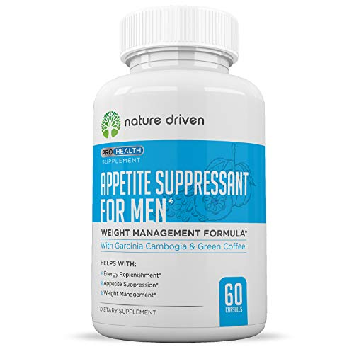 Men's Appetite Suppressant – Weight Loss for Men – Increase Natural Energy – Boost Metabolic Rate – 30 Day Supply Review