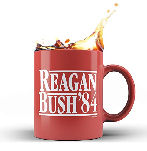 reagan bush mug - 1