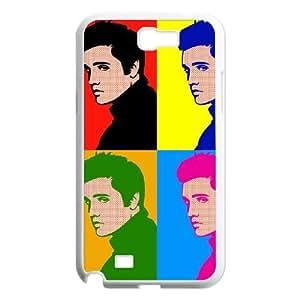 Samsung Galaxy N2 7100 Cell Phone Case White Elvis BRK Custom Cell Phone Cases