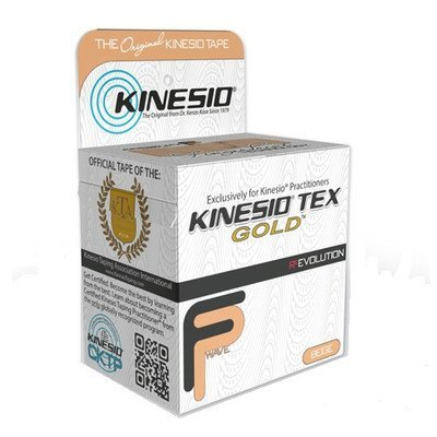 Kinesio Athletic Tape - Tex Gold Finger Print Tape Color: Beige