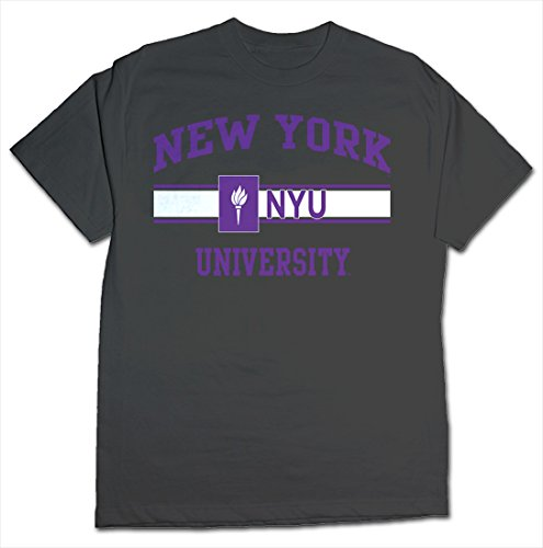 Ncaa Nyu Bobcats Stormster Short Sleeve Tee  Small  Charcoal