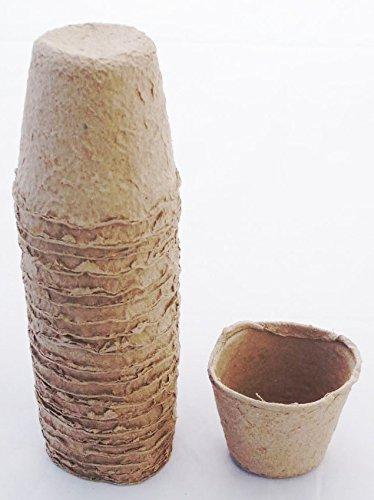 Anzuchttöpfe zur Anzucht von Jungplanzen runde Form Ø 6,5 cm 120 Stück
