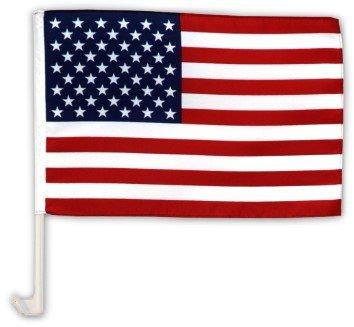 Autofahne Autoflagge USA 30 x 45 cm flags4you.eu
