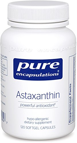 Pure Encapsulations Astaxanthin Fat Soluble Antioxidant