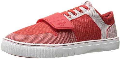 Creative Recreation Mens Cesario Lo Woven Fashion Sneaker Rosso / Bianco