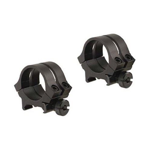 Weaver 49046 Quad Lock 1-Inch Medium Detachable Rings (Matte Black) ()