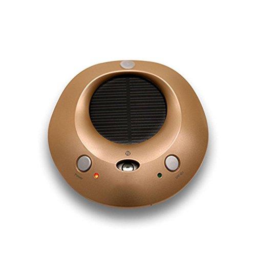 GOUGOU Car supplies car air purifier usb air purifier car humidifier , gold by YANQI