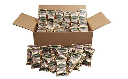 Colonial Coffee, Hazelnut Cream Flavored Ground Coffee, 2.5 OZ Fraction Packs, 100 COUNT box, Bulk - Cream Hazelnut Coffee Ground