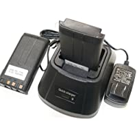 2+1 Battery Charger for KENWOOD KNB-15/A TK272G TK372G