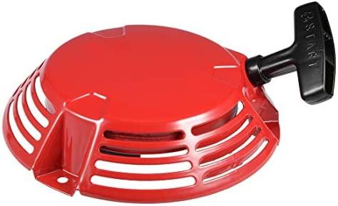 sourcing map Nuevo arrancador de Retroceso para Honda GXV160 GXV140 Motor HR216 HRA216 Motor Cortacésped