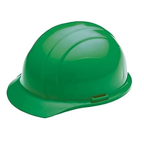 ERB 19768 Americana Cap Style Hard Hat with Slide Lock, Green