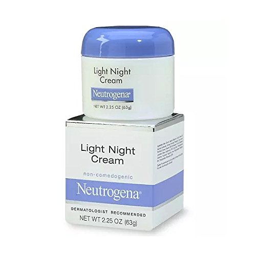 Neutrogena Light Night Cream, 2.25 oz (63 g) - 2pc