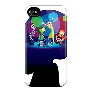 Shockproof Cell-phone Hard Covers For Iphone 4/4s With Unique Design Lifelike Inside Out Image DrawsBriscoe