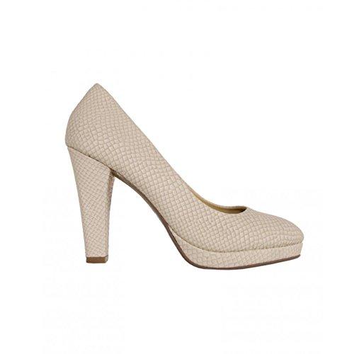 Zapatos de tacón de Mujer URBAN 728061-B7200 BEIGE
