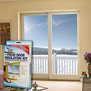 Window insulation kit patio door weatherproofing for Window insulation kit