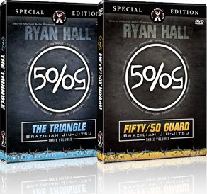 Ryan Hall Combo Pack - The 50/50 Guard & The Triangle - Brazilian Jiu-Jitsu DVDs