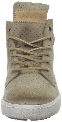 taupe Perforated Femmes Baskets Mode Blackstone Beige High n7YaSWxwq