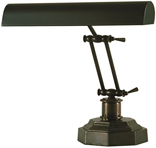 Bronze Portable Lamp - House of Troy P14-203-81 12-1/2-Inch Portable Desk/Piano Lamp Mahogany Bronze