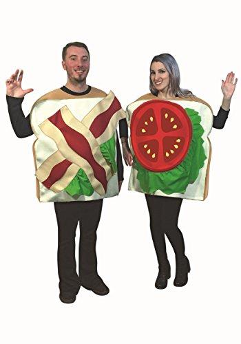 Rasta Imposta BLT - Bacon Lettuce Tomato - Couples Costume