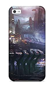 New Style Tpu 5c Protective Case Cover/ Iphone Case - Vehicle Sci Fi