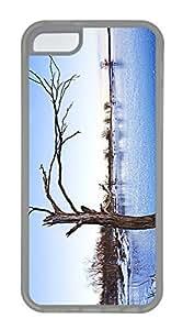 iPhone 5c Case Unique Cool iPhone 5c TPU Transparent Cases Clinton Lake Frozen Design Your Own iPhone 5c Case
