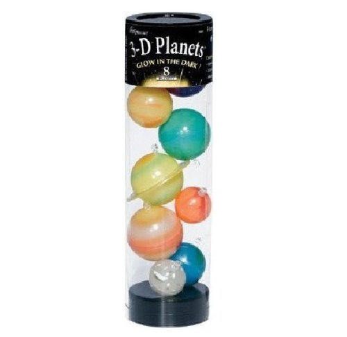 Great Explorations 3-D Planets In a Tube