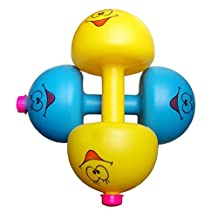 Children Kids Boys Weight Adjustable Fitness Dumbbell Filled With Sand Water Rice Toys