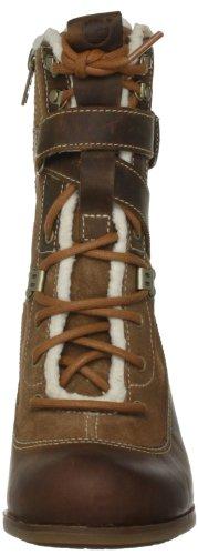 Marron Nevali Pour Escarpins Boots Ups Women's Lace Hiker Timberland Femme q1z5P