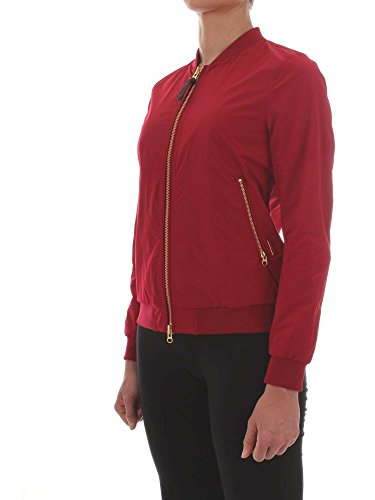 Outerwear Donna Poliestere Rosso Woolrich Giacca Wwcps2472sm205215 Twq5gUE