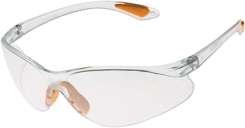 MZY1188 Gafas de Seguridad Ligeras, Gafas Transparentes antiimpacto Trabajo al Aire Libre Protección de los Ojos Gafas de protección contra Salpicaduras
