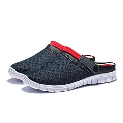 KENSBUY Unisex Summer Breathable Durable Mesh Shoes, Outdoor, Beach Aqua, Walking, Anti-Slip Slippers   Slippers