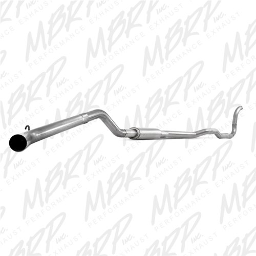 Combo Exhaust Systems - MBRP S6150P Single Side Exit Turbo Back Exhaust System
