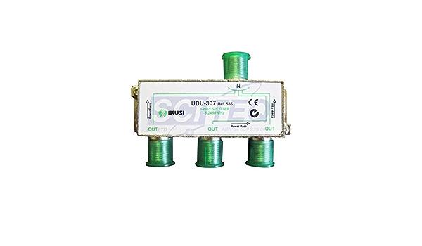 Ikusi udu-307 - Distribuidor 3 direcciónes con pc.: Amazon.es ...