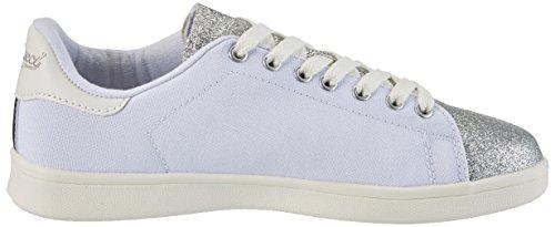 Fiorucci Women's Fepm065 Trainers White (Bianco/Silver Bianco/Silver) EaF7y0S6