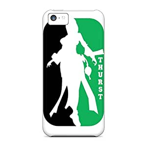 Best Hard Cell-phone Case For Iphone 5c (djR14787Yesz) Custom Realistic Green Day Pictures