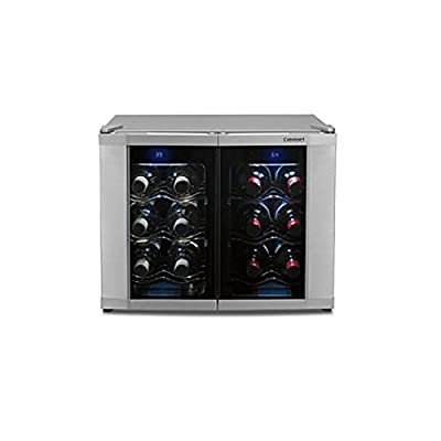 Cuisinart 12-Bottle Dual-Zone Wine Cooler