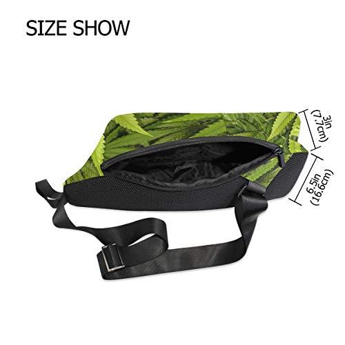 Men Bag amp; Sling Cross Women Small Chest Waterproof Shoulder Bennigiry Backpack For Marijuana Body 1URnw7qP