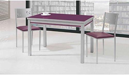 Amuebla 9292. Mesa DE Cocina Extensible DE 100X 60 CM.: Amazon.es ...