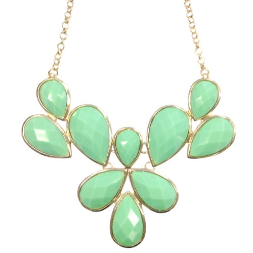 Wrapables Fancy Bubble Statement Necklace
