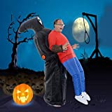 Skeleton Ghost Inflatable Costume Party DIY Decoration Funny Fancy Dress Suit Party Grim Reaper Catch Me Halloween Decor