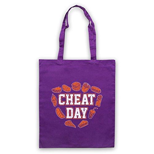 d'emballage Workout Slogan Cheat Sac Bodybuilding Day Violet TnxCP