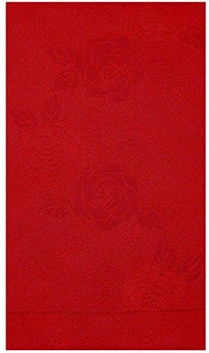 知覚的店員休日に半幅帯 レディース こき赤色 薔薇柄 N0098