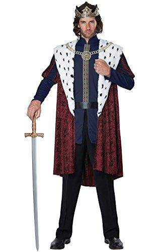 California Costumes Men's Royal Storybook King Adult Man, Multi, Large/XLarge