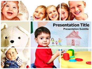 amazon com kids powerpoint template kids powerpoint backgrounds